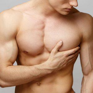 Enlargement of breasts in men - Gynecomastia
