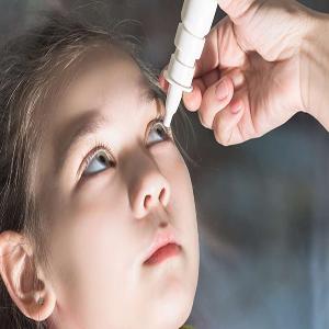 Dry eyes in children