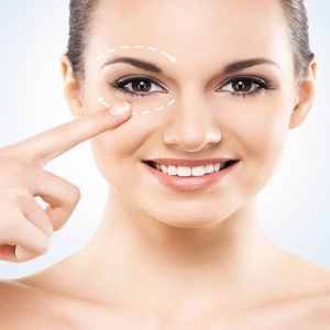 Eye contour mesotherapy